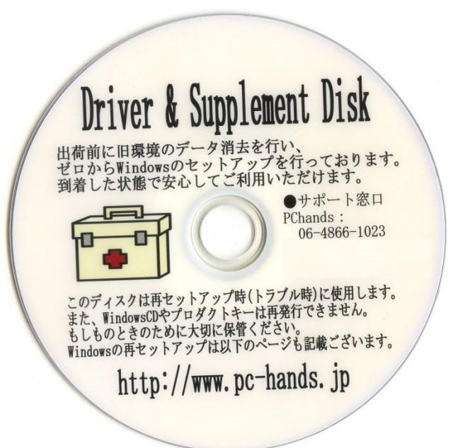 Driverディスク